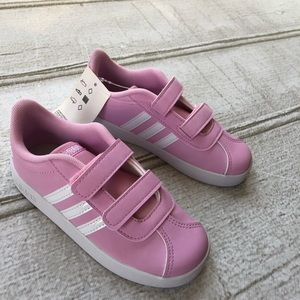 Pink Adidas Sneakers Size 9. NWT